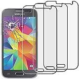 ebestStar - [Lote x3 Cristal Templado Compatible con Samsung Galaxy Core Prime SM-G360F, 4G SM-G361F VE Protector Pantalla, Película Dureza 9H, Sin-Burbujas [Aparato: 130.8x67.9x8.8mm 4.5']