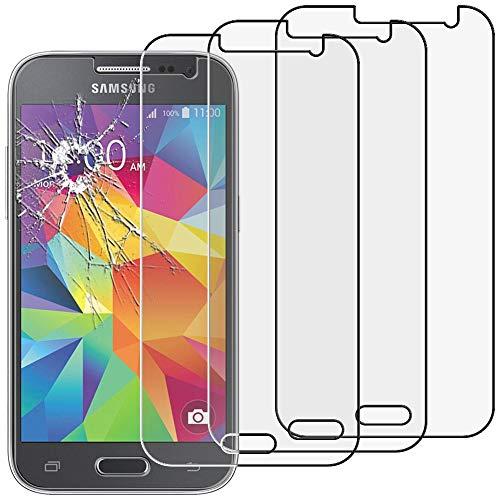 ebestStar - [Pacco x3 Vetro Temperato Compatibile con Samsung Galaxy Core Prime SM-G360F, 4G G361F VE Schermo Pacco x3 Pellicole Anti Shock, Anti Rottura [Apparecchio: 130.8 x 67.9 x 8.8mm, 4.5'']