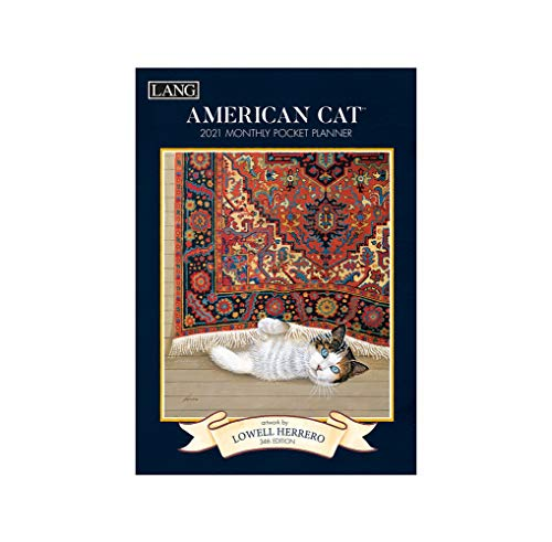 American Cat 2021 Monthly Pocket Planner