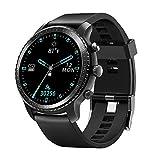 Reddoter R20W スマートウォッチ ワイヤレス充電可能 腕時計 万歩計 活動量計 歩数計 睡眠モニター smart watch 最長連続20日間使用 5ATM防水 IP68 メンズ レディース iOS&Android対応