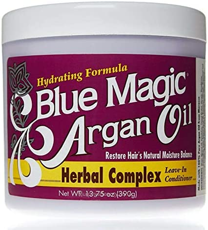 Blue Magic Argan Oil Herbal Complex Leave In Conditioner 13 75 oz product image