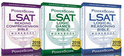 The PowerScore LSAT Bible Workbook Trilogy