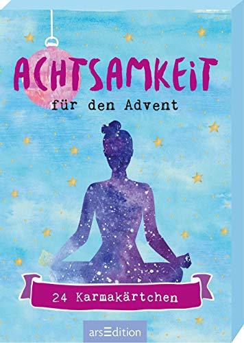 Achtsamkeit für den Advent - 24 Karmakärtchen: Adventskalender-Kartenbox mit 24 Achtsamkeits-Ideen für die Adventszeit
