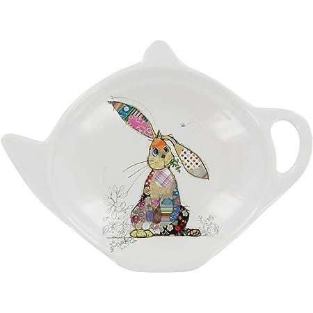 Wild Poppy Field Tea Bag Tidy Holder Kitchen Hygiene Melamine 13x10x2cm