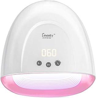 Secadores de uñas Secador de uñas Ultravioleta de la lámpara de Clavo LED con la Pantalla LED ocultada para la Goma Laca y Las uñas del Gel