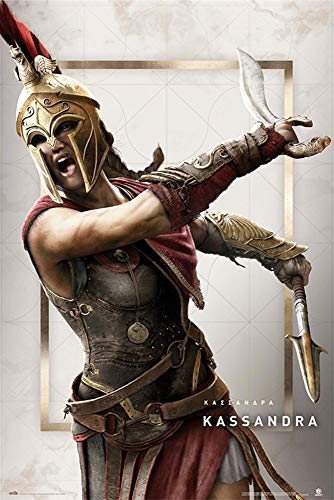 Assassin's Creed Odyssey Poster Kassandra
