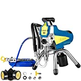 VEVOR Spray Painter 595 Airless Paint Sprayer 3.5L/MIN 2200W Professional Electric Spraying Machine for Home Exterior Interior Walls Or Commercial Painting