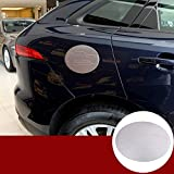 WYZXR ABS Chrome Gas Fuel Tank Cap Cover Sticker Compatible Jag F-Pace...