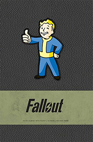 Fallout Hardcover Ruled Journal (Gaming)