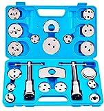 JOMAFA - Reposicionador de pistones de frenos 22 piezas retractor (para reposicionar el pistón de freno al cambiar los discos, las zapatas o las pastillas de freno)