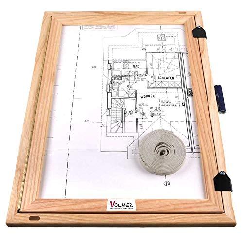 Feldbuchrahmen DIN A3 - Holz massiv, das standard-Klemmbrett