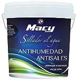 Sellador Antihumedad-Antisales para Interior y Exterior. 4 Litros. Incoloro