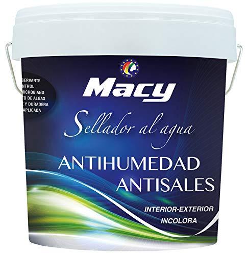 Pintura Antisales Antihumedad MACY - Envase de 4 lt.