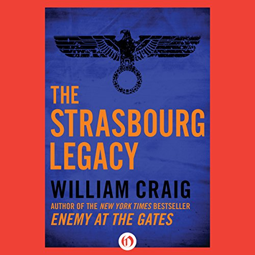 The Strasbourg Legacy  audiobook cover art