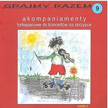 Accolay: Grajmy razem - akompaniamenty fortepianowe do koncertów na skrzypce vol 9