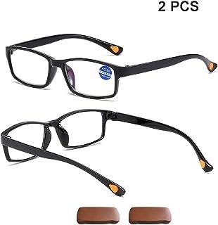 41418794f6 DLDL Gafas de Bloqueo con luz Azul Leer Caja presbicia Lentes ultraligeras  con Marco TR90 de