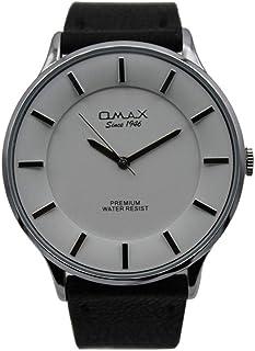 اوماكس ساعة رسمية رجال انالوج بعقارب جلد - 00SX7003IB03