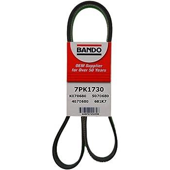 Rubber D/&D PowerDrive 6PK1625 Metric Standard Replacement Belt