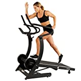 ASUNA Hi-Performance Cardio Trainer Self Powered Manual Treadmill with Adjustable Incline, Magnetic Resistance, 400+ lbs High Weight Capacity, Non-Motorized Running and Walking Treadmill