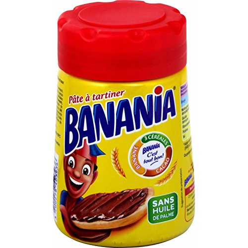 Pâte à tartiner Banania Cacao Céréales Bananes Bananen Schoko Creme 400 g