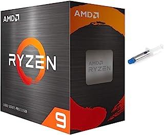 AMD-Ryzen 9 5900X 4th Gen 12-core Desktop Processor Without Cooler, 24-Threads Unlocked, 3.7 GHz Up to 4.8 GHz, Socket AM4...