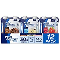 12-Pack Pure Protein Complete Protein Ready to Drink Variety Pack