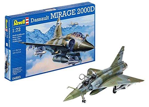 ドイツレベル 1/72 Mirage 2000D 04893 プラモデル