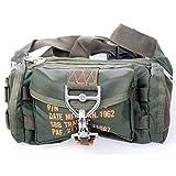 SBB Marsupio para Bag 1 - Paracadutisti Style con moschettone a sgancio rapido...