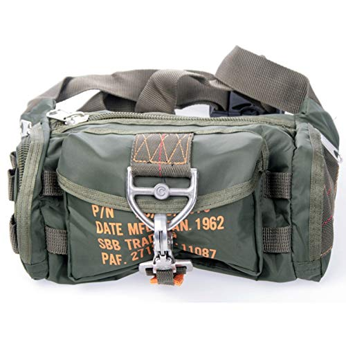 SBB Marsupio para Bag 1 - Paracadutisti Style con moschettone a sgancio rapido