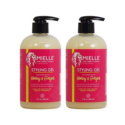 Mielle Organics Styling Gel Honey & Ginger 13oz / 384ml 'Pack of 2'