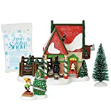 Department 56 North Pole Village Series The Fir Farm Lit Building and Accessories, 6', Multicolor