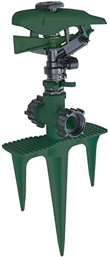 discount Yard Smith Triple wholesale outlet online sale Spike Impulse Sprinkler 4000SqFt online