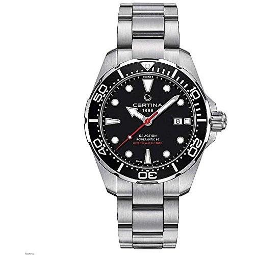 Certina Men's DS Action 43mm Steel Bracelet Automatic Watch C032.407.11.051.00