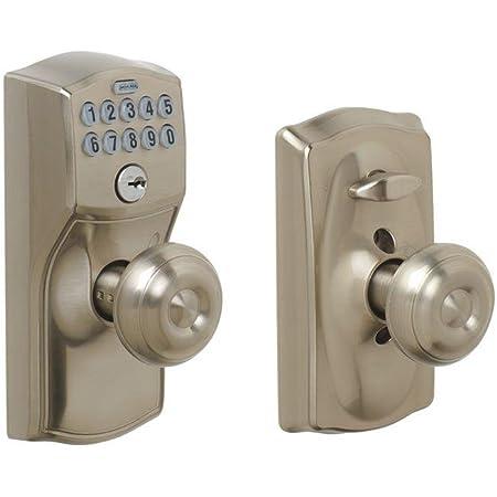 Door Hardware & Locks Panic Handles Satin Nickel Schlage ...
