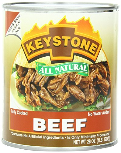 Keystone All Natural Beef 28 Oz (Pack of 3)