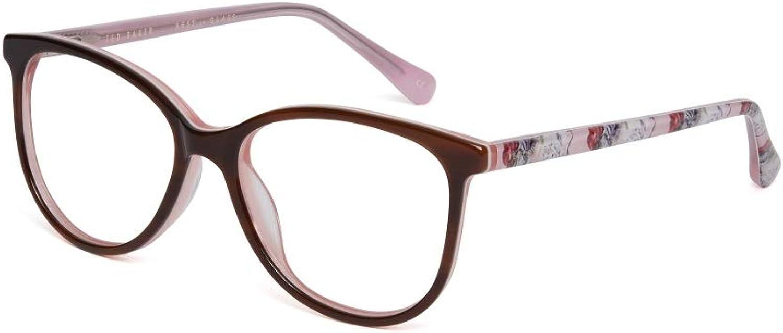 Ted Baker Eyeglasses TBB959 Alia 154 Brown Horn Pink 4714  Girls