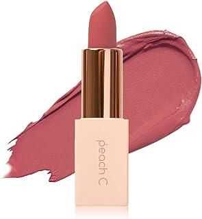 Peach C 4Season MLBB Korean Lipstick – Semi-Matte Lipstick – Silky Finish and Moisturizing Effect – Lightweight and Rich Velvet Texture – Highly-Pigmented Lip Sticks – Long-Lasting Effect (Sun Kissed)