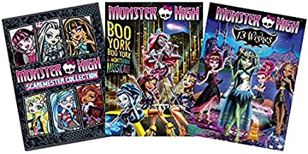 Ultimate Monster High 2-Movie DVD Collection: Scaremester Collection / Boo York, Boo York: A Monsterrific Musical / 13 Wishes