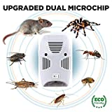 HNESS Electronic Home Pest & Rodent Repelling Aid for Mosquito, Cockroaches, Ants Spider