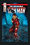 Marvel Iron Man Shock Legacy Comic Cover Graphic: Notebook Planner - 6x9 inch Daily Planner Journal, To Do List Notebook, Daily Organizer, 114 Pages