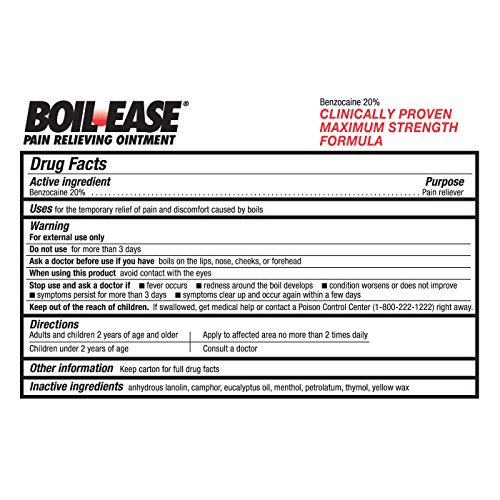 Boilx Natural Boil Treatment Homeopathic Boil Relief Product Removes Boils On Skin 1 Bottle Buy Online In Oman Boilx Products In Oman See Prices Reviews
