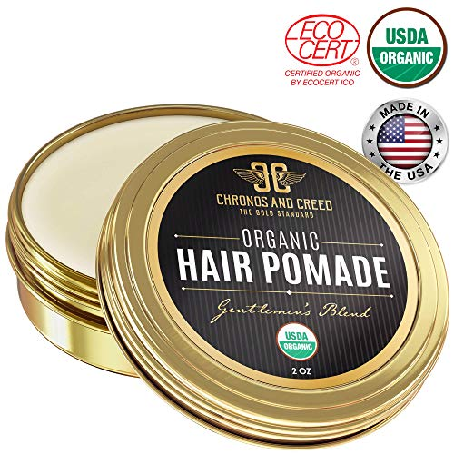 Chronos And Creed - Certified Organic Hair Pomade