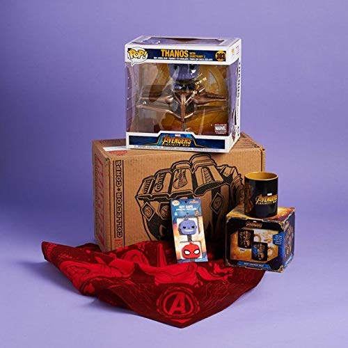Funko Pop Thanos W/Sanctuary Marvel Collector Corps Box