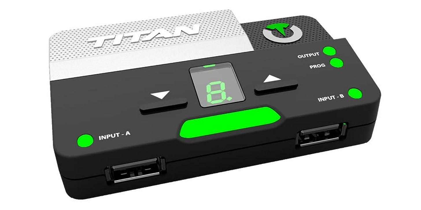 ほのかチャーミング二週間タイタンツー TITAN TWO ゲーミングコンバーター コントローラ?キーボード?マウス