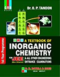 GRB A TEXTBOOK OF INORGANIC CHEMISTRY FOR JEE(1st YEAR PROGRAMME) - EXAMINATION 2020-21