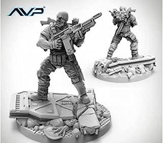 AvP Tabletop Game The Hunt Begins Expansion Pack USCM Officer PRODOS Games