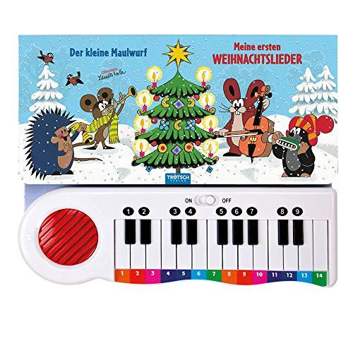 Trötsch Der kleine Maulwurf Klavierbuch Meine ersten Weihnachtslieder: Beschäftigungsbuch Soundbuch Liederbuch