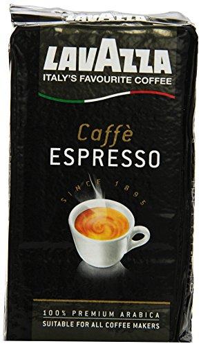 Lavazza Caffe Espresso 100% Arabica, 250 g Packung