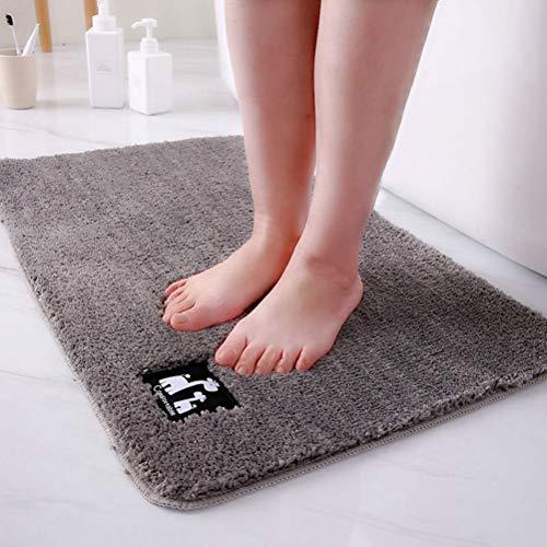 JWANS Alfombra de baño Alfombras superabsorbentes Alfombra de baño Alfombra Antideslizante Felpudo para Ducha Aseo