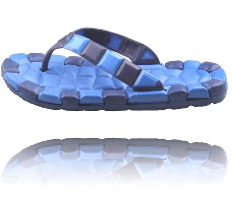 Oudan Sandalen Männer Schwimmbad Clip Sand Strand Flip-Flops Rutschfeste verschleißfesten Weichen Boden Hausschuhe (Farbe   42, Größe   Blau)  | Clever und praktisch